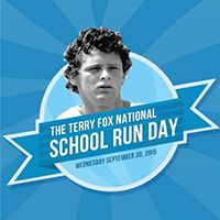 Please join me in supporting the Terry Fox National School Run Day help celebrate the anniversary of Terry's Marathon of Hope. Global Village, National School, 35th Anniversary, My Community, Help Me, Marathon, Fox, Running, Celebrities