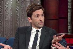 "David Tennant, the 10th regeneration of Doctor Who's title character, was one of Stephen Colbert's guests on Wednesday's Late Show, and Colbert asked about his new, slightly controversial successor, Doctor No. 13. ""How do you feel, or do you have any feelings about Jodie Whittaker breaking the glass TARDIS ceiling and becoming the first female Doctor?"" he asked, and Tennant did. ""I'm delighted,"" he said, noting that Whittaker has starred with him on the BBC..."