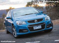 Holden VF Commodore SV6 2014 poster, #poster, #mousepad, #Holden