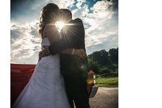 Wedding Shooting bei Sonnenuntergang