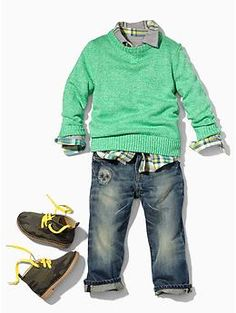New Gap Boy Skus - Fall/Winter 2013 - GymboFriends Gymboree Discussion Forums Well I don't like the skull on the pants but the tops are adorable! i love this outfit. Baby Outfits, Little Boy Outfits, Toddler Outfits, Kids Outfits, Little Boy Clothing, Boys Dress Outfits, Dress Clothes, Girl Clothing, Toddler Boy Fashion