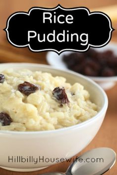 Easy but super creamy rice pudding.