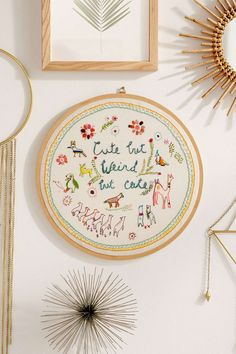 Cute But Weird Wall Hanging - Urban Outfitters