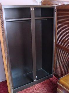 Wood U0026 Tin Metal Portable Closet Wardrobe Armoire Cabinet Coat Rack