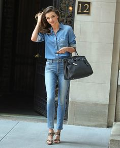 Miranda Kerr In New York City On July   Miranda Kerr Street Style