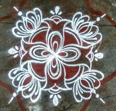 Rangoli Designs Flower, Colorful Rangoli Designs, Rangoli Kolam Designs, Kolam Rangoli, Latest Rangoli, Indian Rangoli, Simple Rangoli, Beauty Skin, Diy Crafts