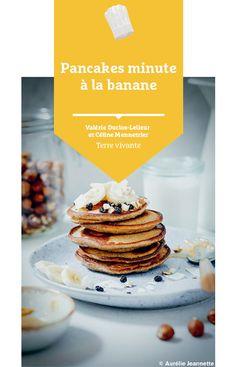 #recette #pancakes #banane #glutenfree Bio, Cereal, Brunch, Breakfast, Eat Healthy, Banana, Recipes, Morning Coffee