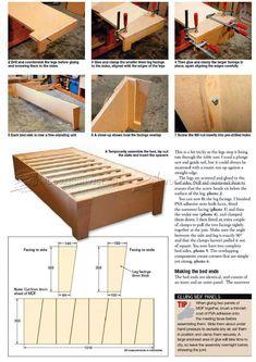 Simple Bed Plans - Furniture Plans