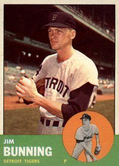 1963 Topps Jim Bunning