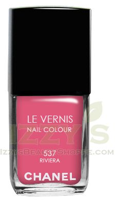 Chanel Le Vernis Nail Color Riviera No. 537: Limited edition perfect for the end of summer.