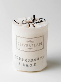 Pomegranate & Sage - O L I V E & P E A R L