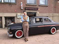 AutoMaatje: Pascal Bannink en zijn Volvo Amazone B18 uit 1964