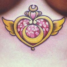 My new Sailor Moon tattoo!