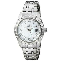 Invicta Women's 17487 Angel Analog Display Japanese Quartz Silver Watch Review