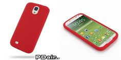 PDair Silicone Case for Samsung Galaxy S4 SIV GT-I9500 (Red)