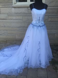 The Corpse Bride Emily Wedding Dress Gown Halloween Costume 8 #Dress