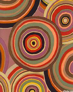 'Targets' by Kaffe Fassett for Rowan Fabrics.