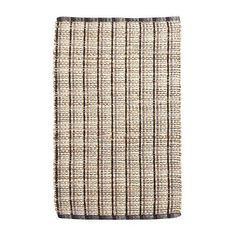 Global vibes and plenty of texture—our area rug features both. Crafted of cotton and jute, this handsome floor covering looks great in any space, from living room to bedroom to entryway. Black White Rug, Accent Rugs, Danish Modern, Living Room Bedroom, Bed Frame, Jute, Modern Design, Area Rugs, Willow Creek