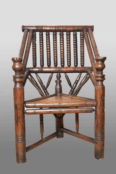 Tudor era turners chair