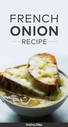 This French onion soup is extra rich, made with slow-cooked shallots and sweet white onions.  -added 2 extra cups of broth and used an extra onion instead of shallots