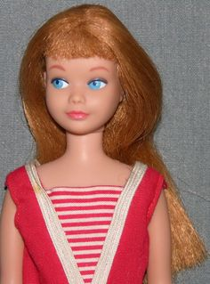Skipper. Did I mention her before as part of my childhood? She belonged to my older sister, actually, but once in a while I was allowed to play with her - under strict supervision.