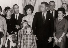 The History Place - John F. Kennedy Photo History: The President: Group Portrait