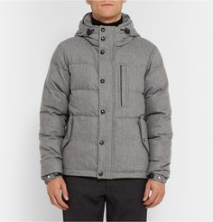 Burberry London - Quilted Wool and Cashmere-Blend Down Jacket | MR PORTER