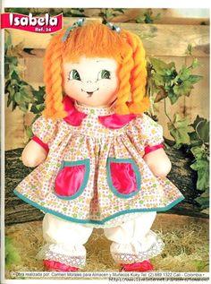 REVISTA DE BONECAS DE PANO - COM MOLDES - clique nas imagens para ampliá-las - Moldes e Apostilas Toy 2, Pillow Fabric, Doll Tutorial, Waldorf Dolls, Soft Dolls, Doll Crafts, Fabric Dolls, Doll Face, Arts And Crafts