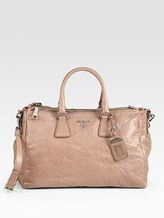 Prada - Nappa Antique Tote Bag - Saks.com