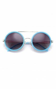 928ecd926d3c6 Wildfox Sunglasses - Winona in Silver Pastel Blue Cool Sunglasses