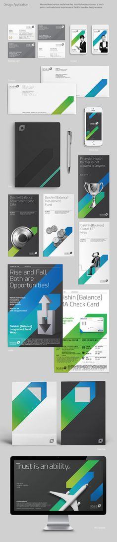 DAISHIN SECURITIES Brand eXperience Design Renewal on Branding Served