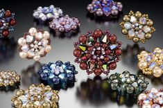 Crystal Lace    Leslee Frumin - Teacher and Designer, Beads, Metals and Gems