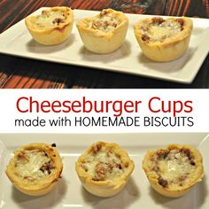 Cheeseburger Cups!  Easy weeknight meal!