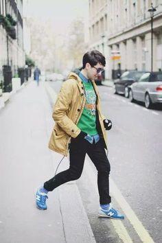 e4202fbdf Street Style Boy, Sneakers Street Style, Kenzo Sweater, Casual Wear For Men,