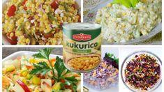 Žiadne zemiaky ani ryža – dajte si ako prílohu toto, posilníte zdravie a kilá pôjdu dole: 11 top šalátov s kukuricou – sýte a o minútku na stole! Pasta Salad, Ethnic Recipes, Food, Diet, Red Peppers, Crab Pasta Salad, Essen, Meals, Yemek