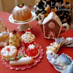 Christmas Miniatures from the very talented Emma
