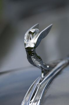 1936 desoto airstream hood ornament - Jill Reger..Re-pin brought to you by agents of #carinsurance at #houseofinsurance in Eugene, Oregon
