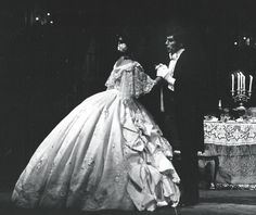 Kiri te Kanawa and Anson Austin in La Traviata. The Australian Opera 1978. Photo Branco Gaica.