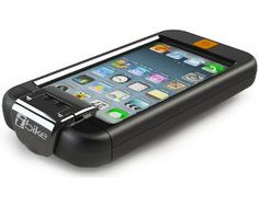 iBike Bicycle Case, Mount & GPS App for Apple iPhone 5, 4 & 4S