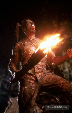 Predator - Publicity still of Arnold Schwarzenegger