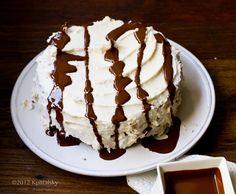 Mocha Layer Cake. #vegan #dessert