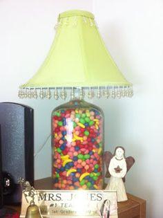DIY Candy Lamp by @Jennifer Jones