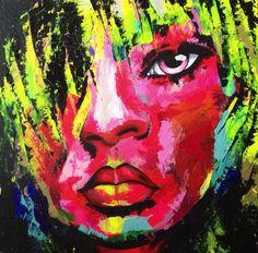 Acrylic painting on canvas.  Painted with palette knives  Artist: Johanna Joona Bergström