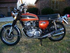 17 best honda cb 750 images on pinterest honda bikes honda 1975 honda cb 750 flake sunrise orange publicscrutiny Choice Image