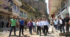 Ustaoğlu sokak sağlıklaştırma çalışmalarını yerinde inceledi - Bitlis Haber