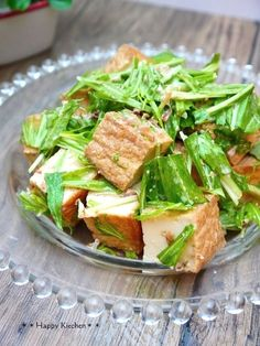 厚揚げと水菜のおかかめんつゆマヨ和え by たっきーママ 「写真がきれい」×「つくりやすい」×「美味しい」お料理と出会えるレシピサイト「Nadia | ナディア」プロの料理を無料で検索。実用的な節約簡単レシピからおもてなしレシピまで。有名レシピブロガーの料理動画も満載!お気に入りのレシピが保存できるSNS。
