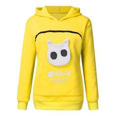 Mirage Star Cat Unisex Pullover Teens Hoodie Hooded Sweatshirt Colorful
