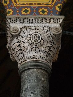 ... of arcade and spandrels and capital, Hagia Sophia, Constantinople