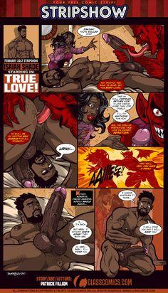 Gay Porn comic strips
