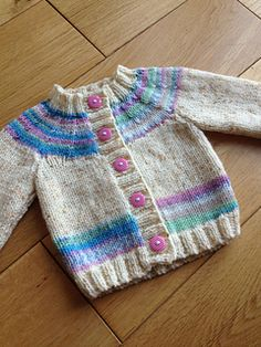 "Ravelry: Cardigan pattern by Sirdar Spinning Ltd. ""Ravelry: Cardigan pattern by Sirdar Spinning Ltd."", ""Ravelry: Project Gallery for Little Coffee Bean Baby Knitting Patterns, Baby Cardigan Knitting Pattern Free, Baby Sweater Patterns, Knitted Baby Cardigan, Knit Baby Sweaters, Knitted Baby Clothes, Cardigan Pattern, Knitting For Kids, Baby Patterns"
